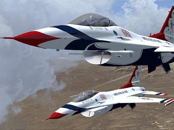 エアロソフト F-16 ファイティング ファルコン X