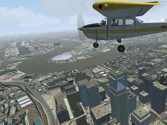 Aerosoft VFR London X and City Airport